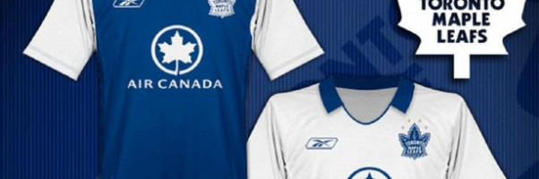 NHL Jerseys re-invented as soccer kits
